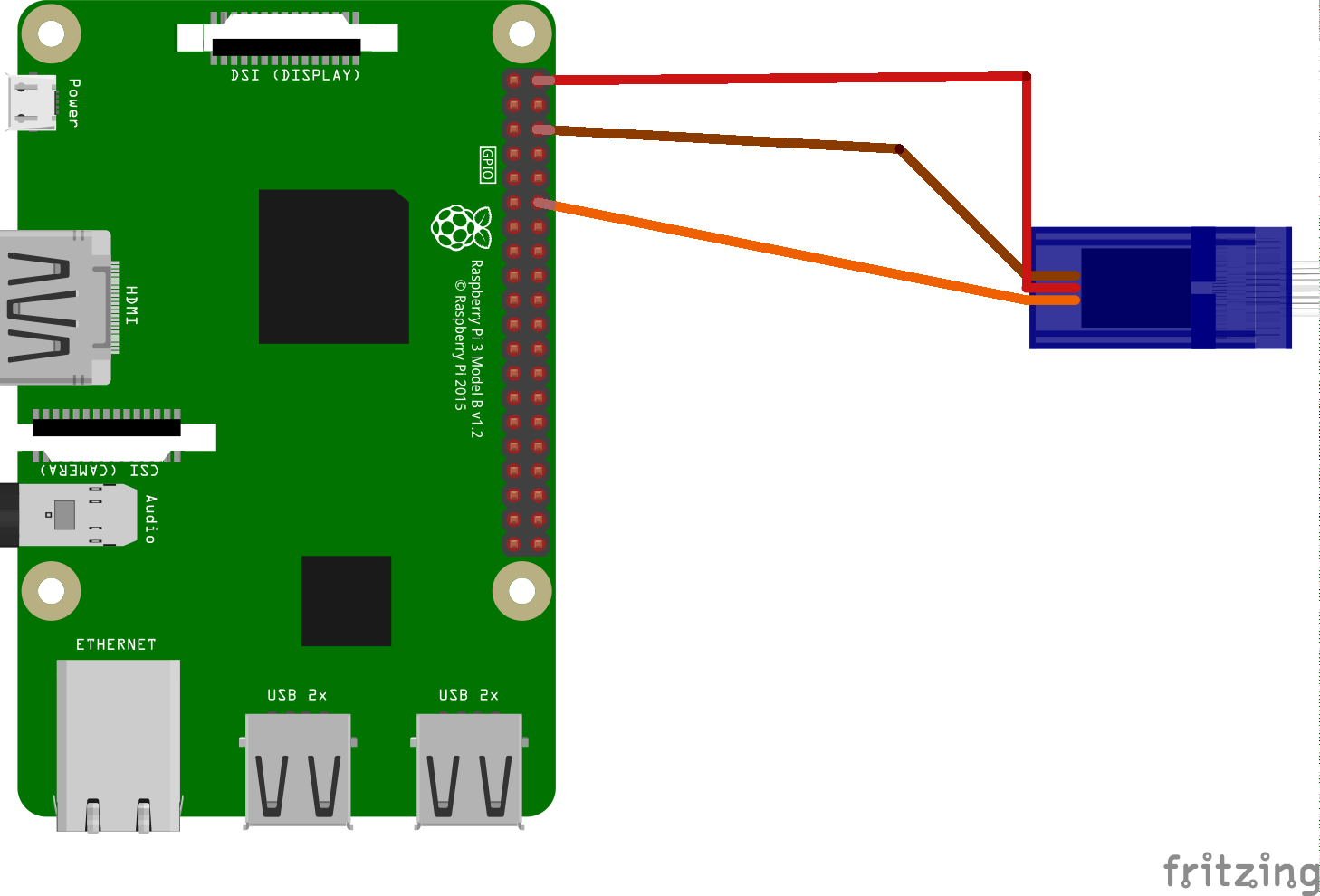 Pi3 connected to servo